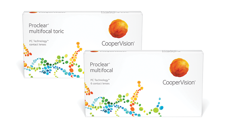 Proclear multifocal and Proclear multifocal toric