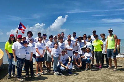 CooperVision Puerto Rico international coastal cleanup