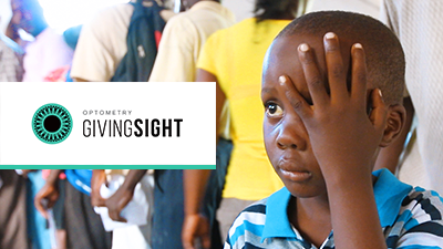 eye exam for young boy optometry giving sight