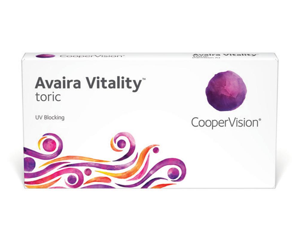 Avaira Vitality™ toric contact lenses