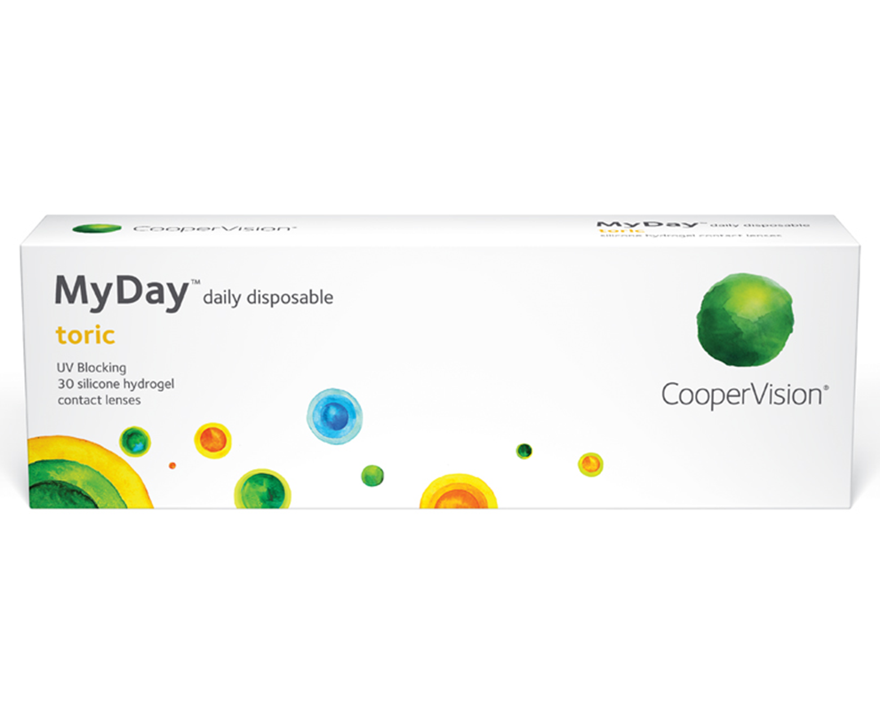 MyDay® daily disposable toric contact lenses