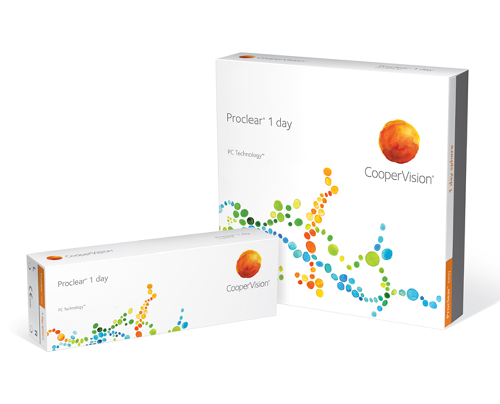 Proclear® 1 day contact lenses