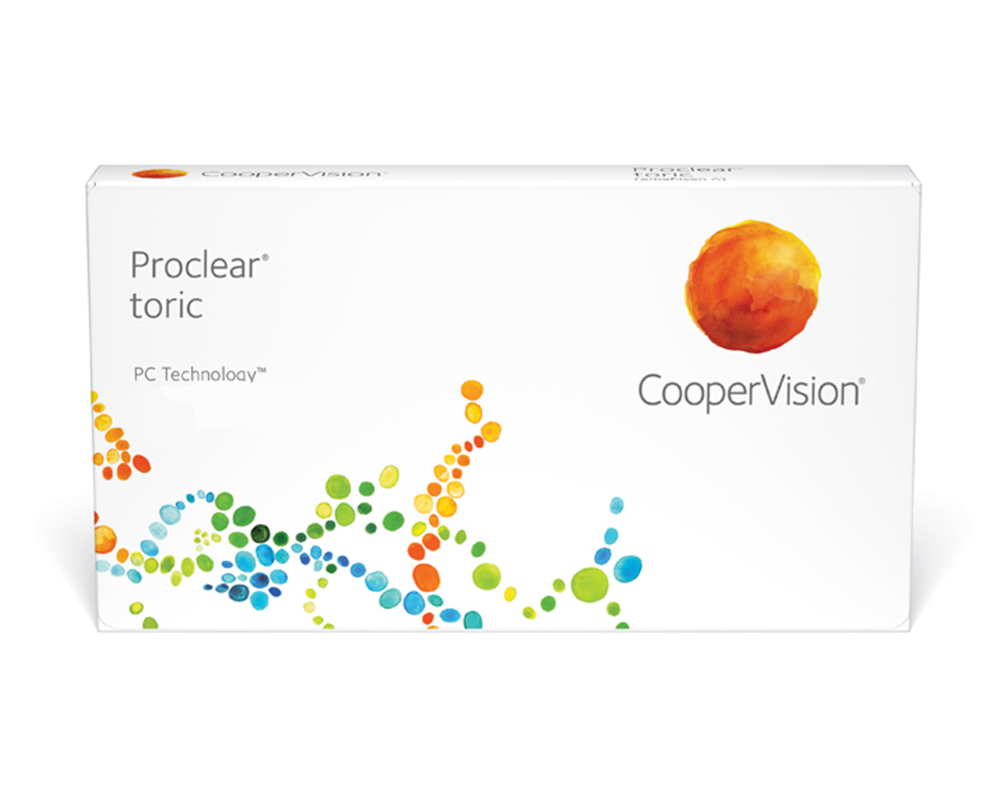 Proclear® toric contact lenses